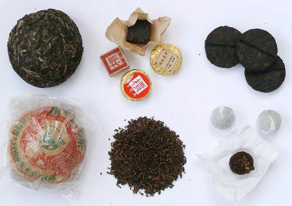 Сорта чая пуэр и его виды